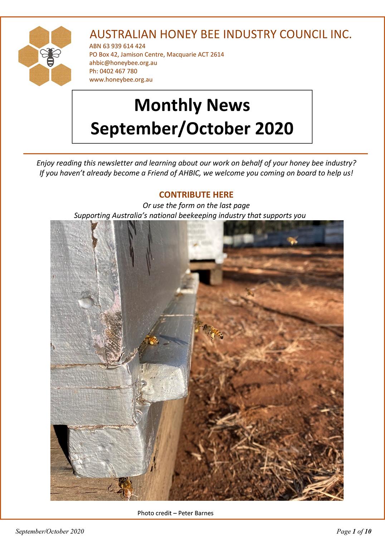 AUSTRALIAN HONEY BEE INDUSTRY COUNCIL